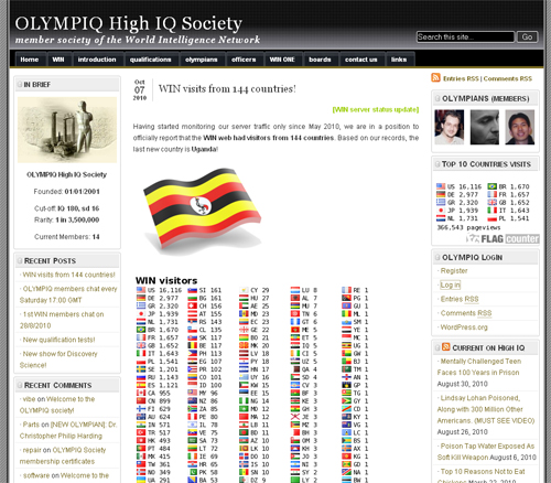 New OLYMPIQ web!